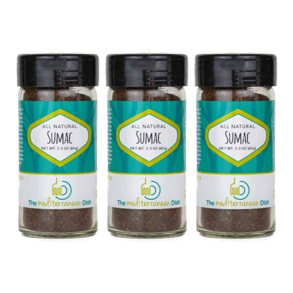 Sumac Spice Three Pack Bundle from The Mediterranean Dish