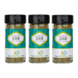Zaatar Spice Trio Pack from The Mediterranean Dish