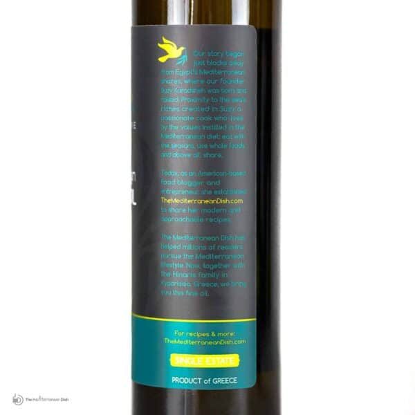 Extra Virgin Olive Oil Private Reserve Product Romance by The Mediterranean Dish