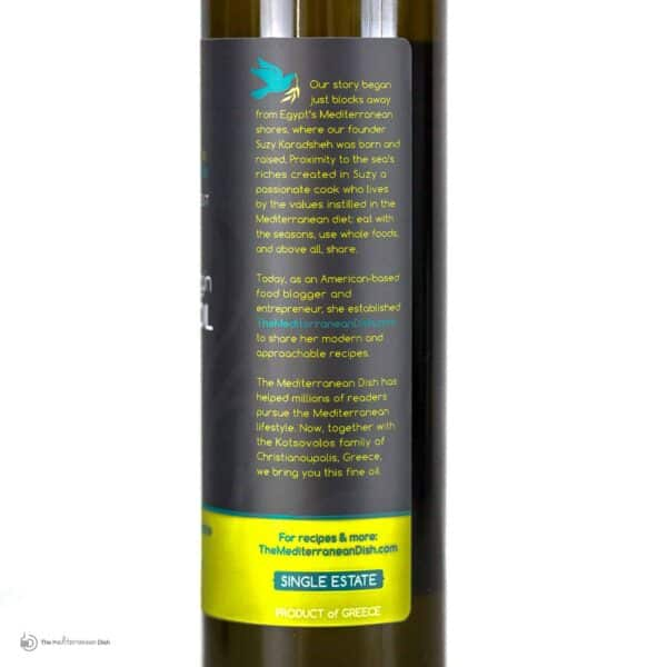 Extra Virgin Olive Oil Early Harvest Product Romane by The Mediterranean Dish
