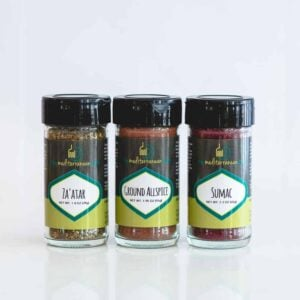 3-pack bundle of zaatar, allpsice and sumac.