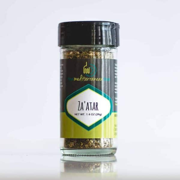 One bottle of Zaatar Spice Blend