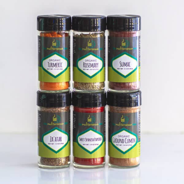 Create your own 6-pack of spices