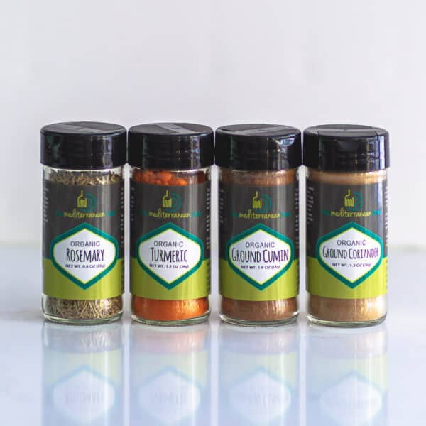 Bundle of organic spices