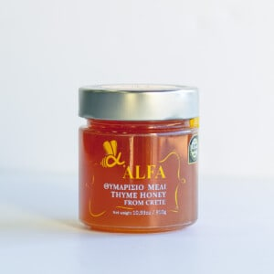 Alfa honey jar