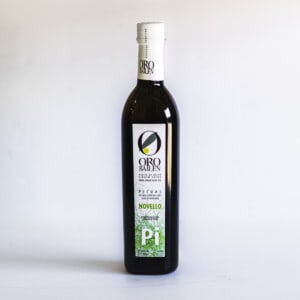 Bottle of Oro Bailen Picual Novella extra virgin olive oil