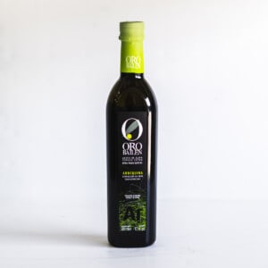 Bottle of Oro Bailen extra virgin olive oil