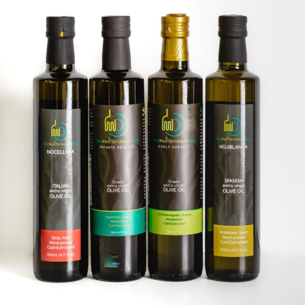 A bundle of our signature extra virgin olive oils